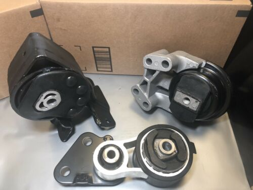 3 PCS ENGINE MOUNTS//TRANS MOUNTS FOR 2007-2010 FORD EDGE //LINCOLN MKX 3.5L V6