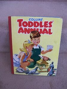 Pendelfin-COLLINS-TODDLES-ANNUAL-Illustration-by-Jean-Walmsley-Heap-SIGNED