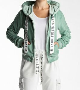 Details about Better Rich Jacket Boxy NYLadies Hooded Jacket, Size: XS to XLGreen Bay show original title