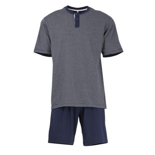 Tom Tailor Herren Pyjama Shorty Set Schlafanzug 070907