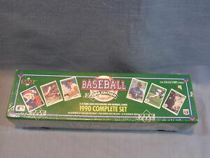 Details About 1990 Upper Deck Complete Set Baseball Cards Factory Sealed Box Psa 10s