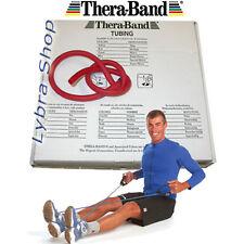 TheraBand TUBO ELÁSTICO pilates ROJO (medio) 1, 5mt TUBERÍA gimnasia Thera-Band