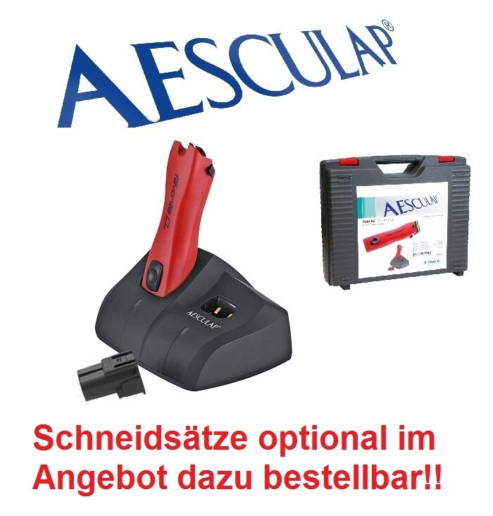 AESCULAP Batteria TOSATORE PER CANI Favorita CL GT200, tosatrice animali, 43924