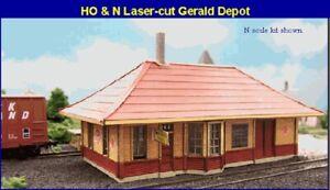 Blair-Line-195-Gerald-Depot-Lagerhaus-Gueterschuppen-1-87-Laser-Cut-Holz-Bausatz