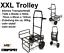 NEU-XXL-Trolley-Barrow-Transportwagen-Carp-Karpfen-Transportkarre-Tackle-NGT-ZUG