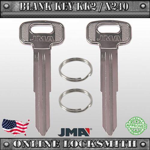 KI2D FREE SHIPPING 2 New Uncut Replacement Keys For Kia Sportage X240 KK2