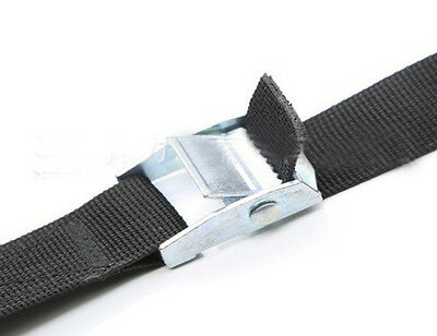 5 Meters Quality Cambuckle Tie Down Strap Heavy Duty Metal Buckle