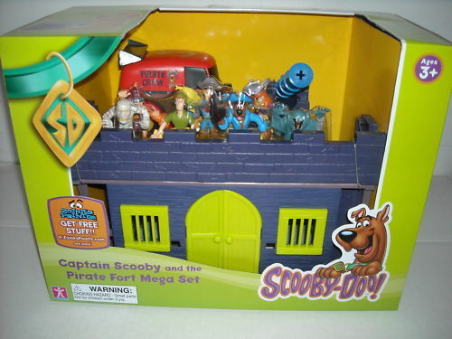 NEW SCOOBY DOO CAPTAIN SCOOBY AND THE PIRATE FORT MEGA