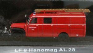 HANOMAG LF 8 / AL 28 - Firetruck - Atlas 1:72