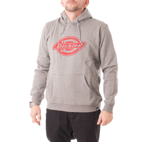Dickies Delaware hoodie uomo con cappuccio Pullover colore grigio 28178
