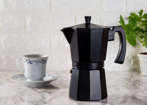 9 tasse Italien Cafetière Aluminium Moka percolateur pot Stove Top Espresso