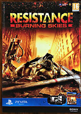 Resistance Burning Skies PSVita 43 x 60cm Original Video Game Promo Poster #4