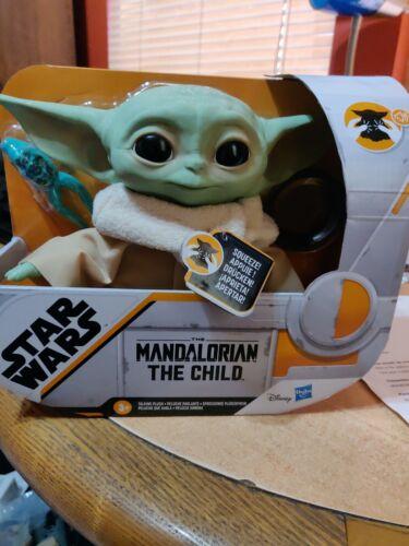 The Mandalorian IN STOCK!!!!! Child Yoda Talking Plush Disney Star Wars