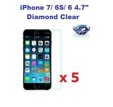"""5 X iPhone 7/ 6S/ 6 4.7"""" Bling Diamond Sparkling Glitter Screen Protector"""