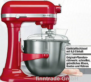 KitchenAid Heavy Duty Küchenmaschine 6,9 l empire-rot 5KSM7591X ...