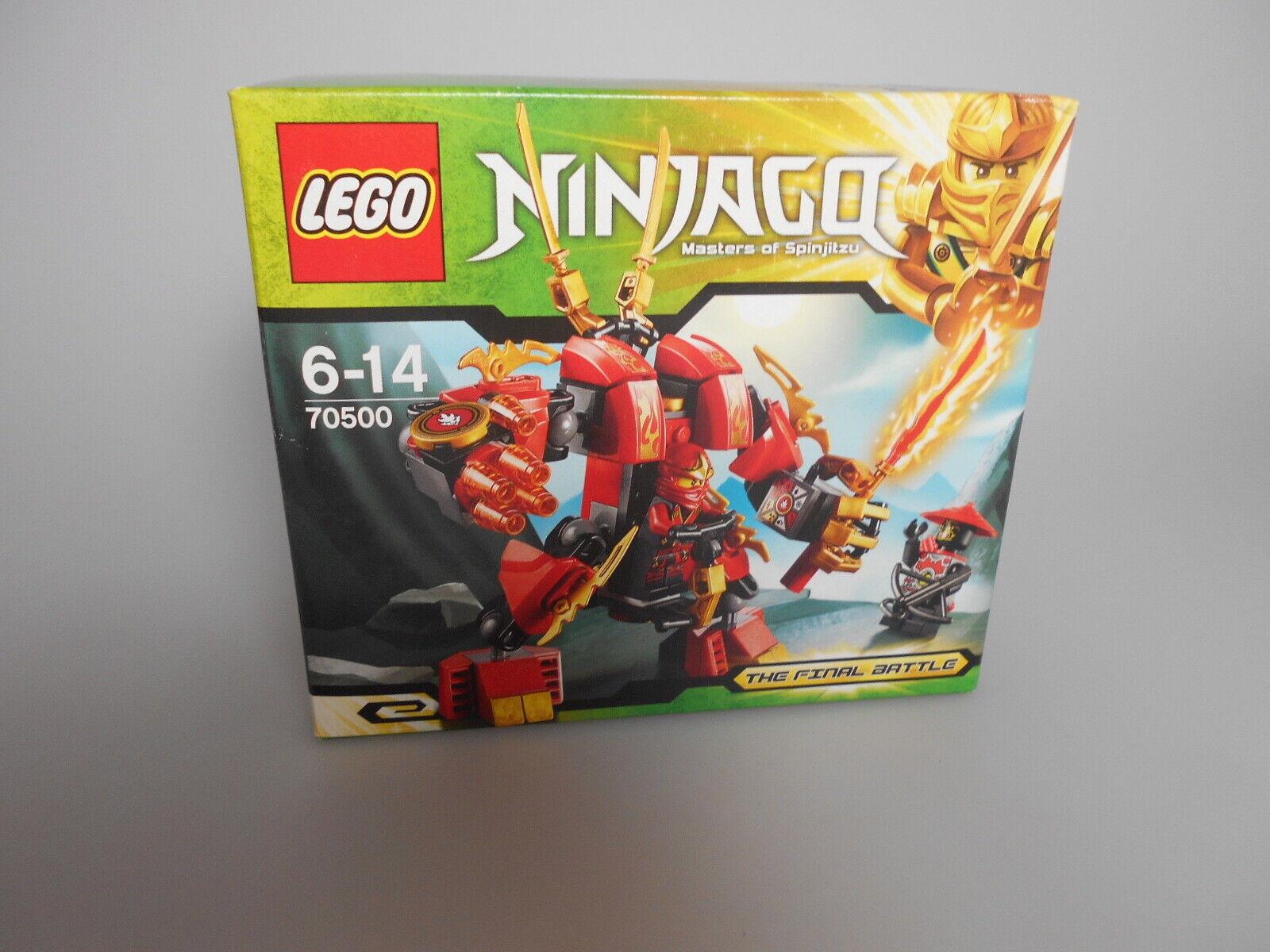 LEGO ® Ninjago set 70500 Nouveau et  non ouvert  bas prix