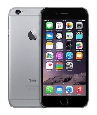 iPhone 6, GB 64, sort