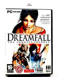 Dreamfall-Longest-Journey-PC-Complet-Parfait-Etat-Retro-Ouvert-comme-Neuf