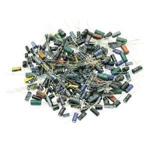210Pcs 25 Value 0.1uF~220uF Electrolytic Capacitors Assortment Kit Set