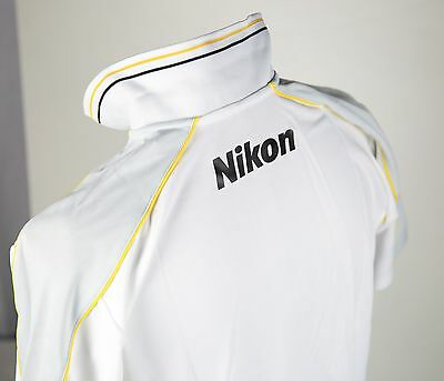 NEW Authentic Nikon Photographer Polo Shirt Tee Size M MEN D810 D750 D4S DF USA