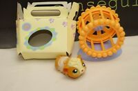 Littlest Pet Shop Hamster With Pet Box and Wheel