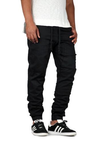 804 Victorious Men/'s Drop Crotch Twill Jogger Pants