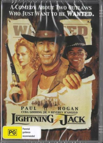Lightning Jack - Paul Hogan  New and Sealedl DVD