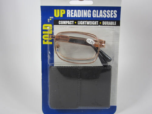 Free Micro Fiber Cloth $3.00 GOLD RF2D Folding Reader reading Clear Glasses