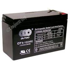 12V 9Ah sealed lead-acid battery (uprated 7Ah 7.2Ah 7.5Ah) deep discharge type