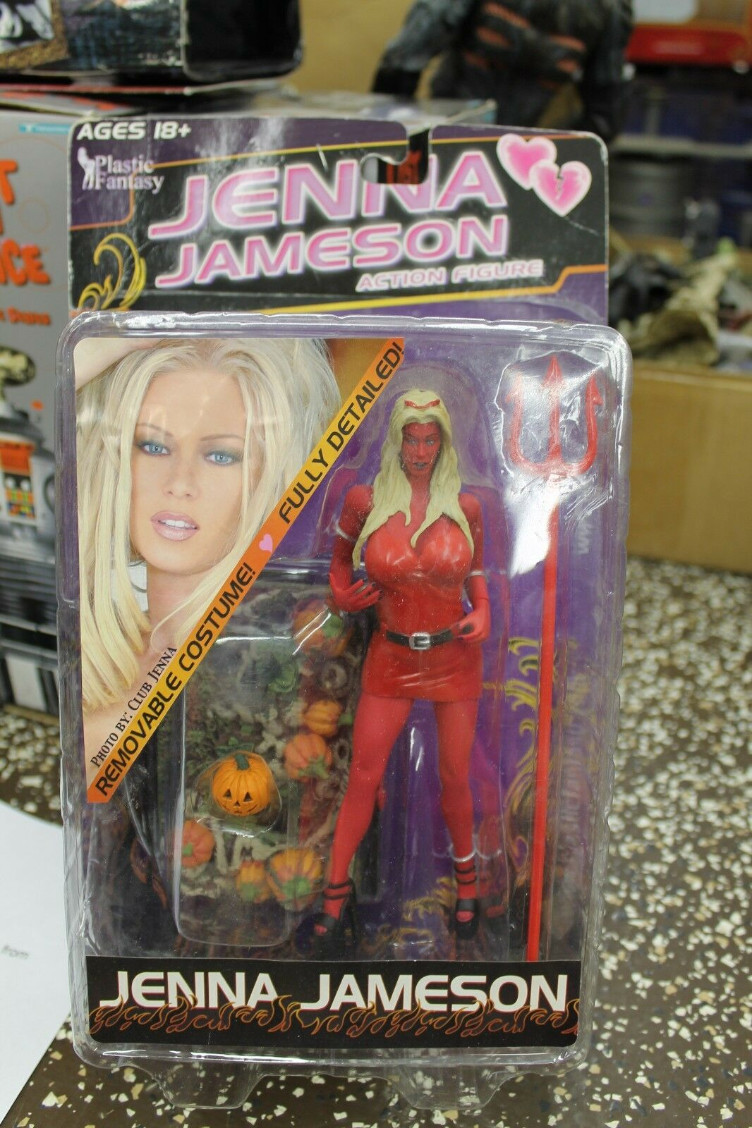 Adult XXX Superstars Jenna Jameson Action Figure rosso Devil Life Like 18yrs+