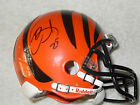 GIOVANI GIO BERNARD SIGNED BENGALS MINI HELMET PHOTO PROOF LAI COA BUY GENUINE