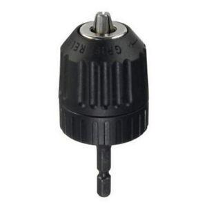 3-8-24UNF-0-8-10MM-Keyless-Drill-Bit-Chuck-Clip-1-4-Hex-Shank-Rod-Adapter-GIL