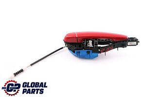 BMW 1 Series F20 LCI Complete Rear Right Grab Handle O/S Karmesinrot Red A61