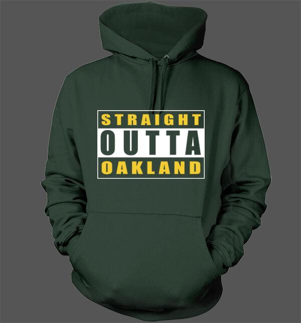 Straight Outta Oakland Hoodie - Oakland Athletics A's Stomper World Series Crisp