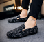 Plus-Size-Men-039-s-Flat-Slip-on-Leather-Loafers-Casual-Lazy-Driving-Moccasins-Shoes thumbnail 9