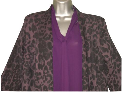 Plus size black jersey edge to edge asymmetrical jacket