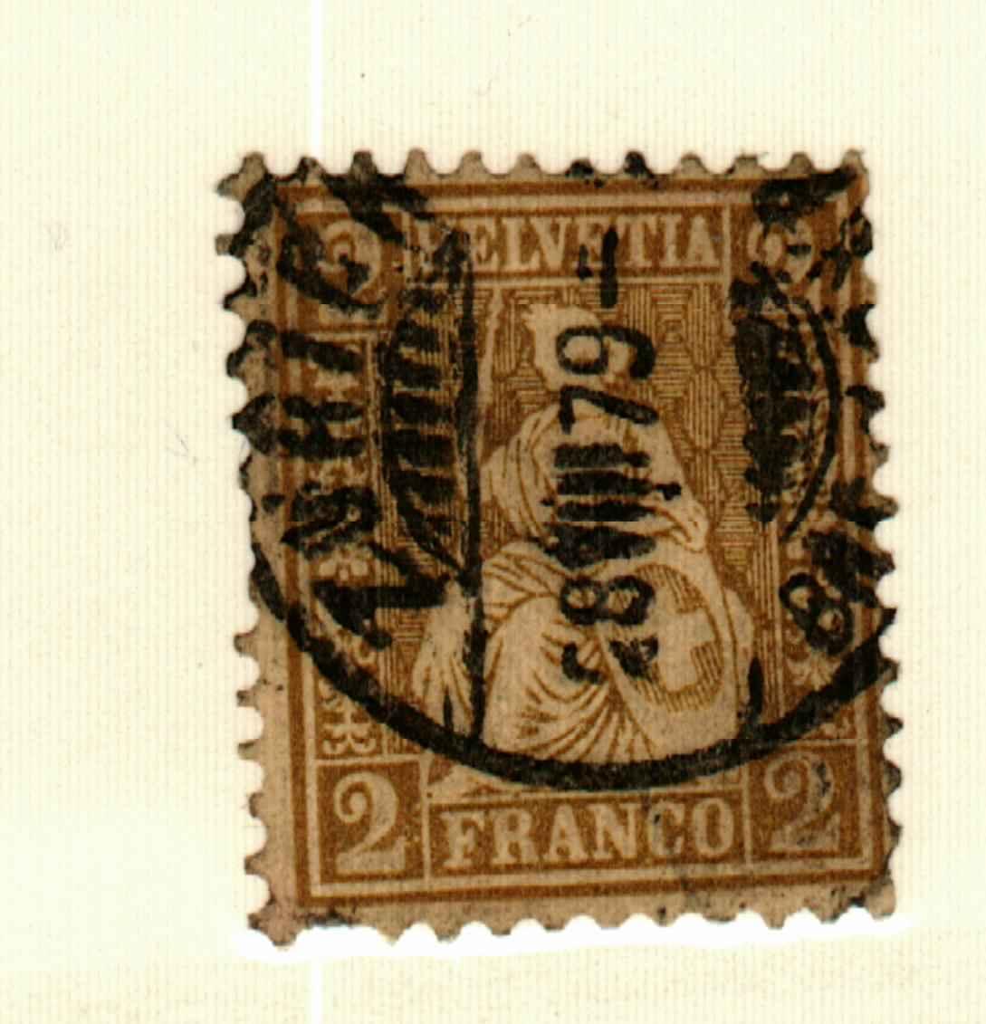 Switzerland #52 used