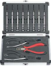 Premium Grade Optician Tools Set Of 3 Rimless Optical Pliers Kit With Screwdrivers