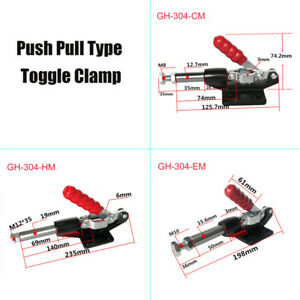 New-Push-Pull-Type-Toggle-Clamp-PVC-Plastic-Cover-Handle-386Kg-680kg-227Kg