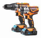 VonHaus Cordless Impact Drill & Impact Driver Set (3500005)