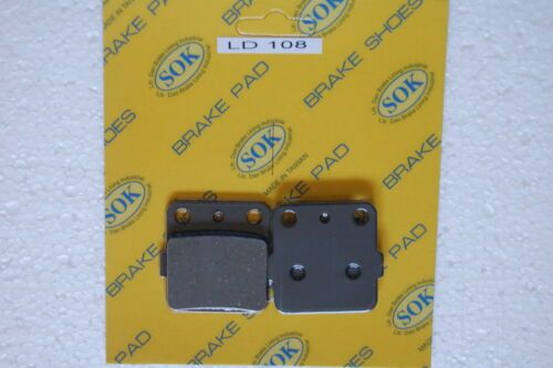 FRONT/&REAR BRAKE PADS fit YAMAHA YZ 125 250 360 1989 YZ125 YZ250 YZ360