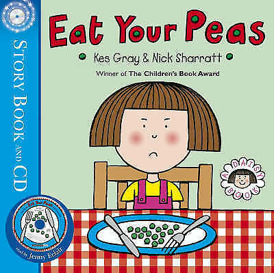 Gray, Kes, Eat Your Peas (Daisy Picture Books), Paperback, Very Good Book