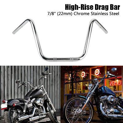 "Motorcycle Universal Cruiser Chrome Foam Handlebar Handle Bar Grips 7//8/"" 22mm"