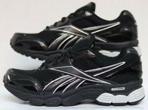 972e72ad6f7d1 Details about Reebok Over Run DMX Wide 2E Black/Silver 1-J20583 Men Size's