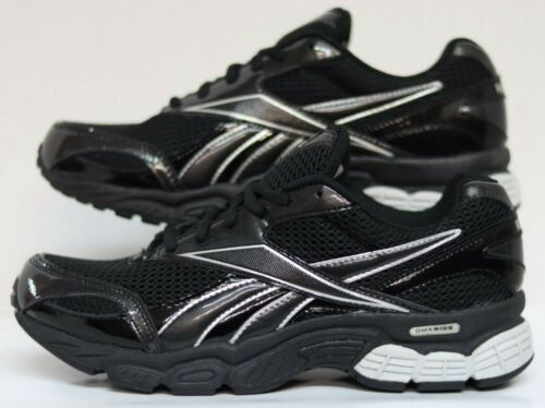Reebok Over Run DMX Wide 2E Black//Silver 1-J20583 Men Size/'s