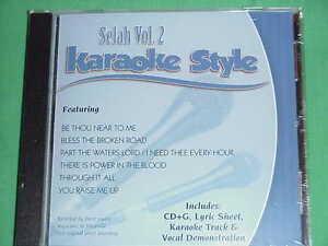 Details about Selah Volume #2 Christian Daywind Karaoke Style CD+G Karaoke  6 Songs NEW
