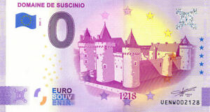 56 SARZEAU Château de Suscinio, 1218, 2021, Anniversaire, Billet Euro Souvenir