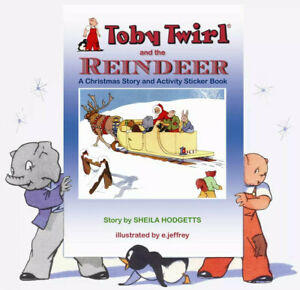TOBY-TWIRL-AND-THE-REINDEER-Hodgetts-Sheila-Illus-by-Jeffrey-E
