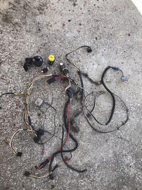 John Deere L130 Lawn Mower Wiring Harness  U0026 Battery Cables Ignition Switch  U0026 Key