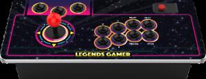 Stick arcade sans fil - Legends Gamer Mini 100 Jeux inclus - Compatible PC neuf